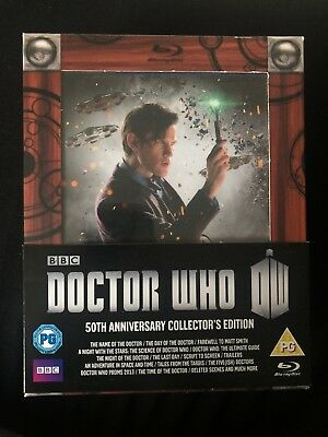 Doctor Who 50th Anniversary Collector's Edition Blu-ray