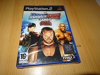 SmackDown Vs Raw 2008 (PS2) new sealed pal