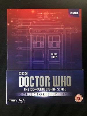 Doctor Who - The Complete Eighth Series Collector's Edition Blu-ray