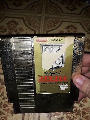 AUTHENTIC> The Legend of Zelda (Nintendo Entertainment System 1987) NES <GENUINE