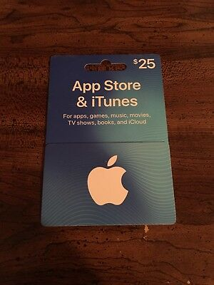 $25 Apple Store & iTunes Gift Card