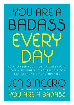 YOU ARE A BADASS EVERY DAY: How to Keep Your Motivation Strong,(0525561641)