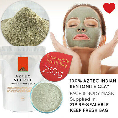 Wyoming Indian Healing Aztec Bentonite Clay 0.5lb | Deep Cleansing Facial & Body