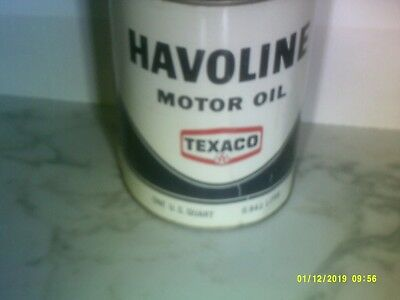 Vintage steel Havoline Oil Can