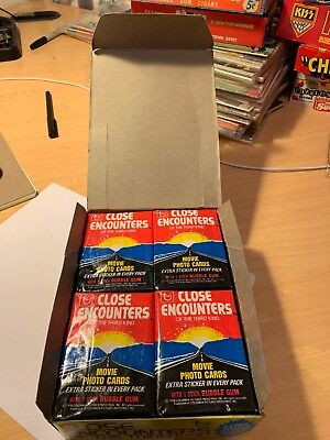 1978 Topps Close Encounters The Third Kind Unopened Wax Box 36 Pack Bbce Sealed