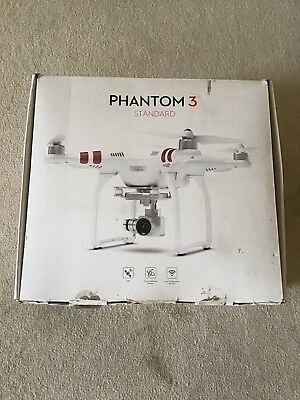 Boxed & Tidy Fully Working Dji Phantom 3 Standard Drone & Camera Outfit