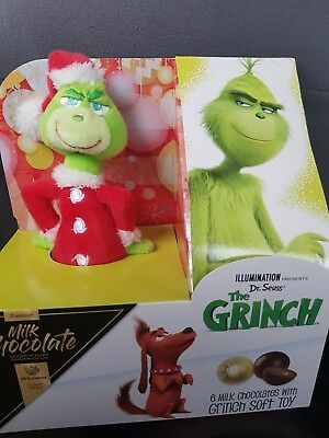 The GRINCH Santa Hat /& Scarf Animated Singing Dancing Universal Illuminations