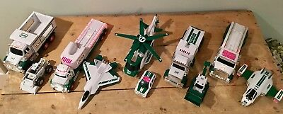 Lot of Hess Trucks - 2008, 2010, 2012, 2013, 2014 Mint Condition