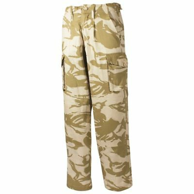"""NEW British Army Issue Desert DPM Tropical Combat Trousers 80/88/104 (34""""W 31""""L)"""