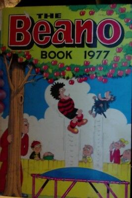 The Beano Book1977. Slight damage to spine but otherwise good.