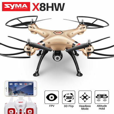 X8HW Drone Altitude FPV RC Helicopter Camera Hold Quadcopter SYMA 720P 4G WIFI