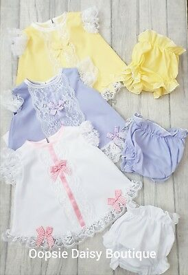 Girls Spanish Style Ribbon & Lace Angel Top/Dress sets ☆