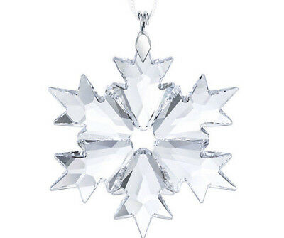Swarovski Crystal 2018 Little Snowflake Christmas Ornament Nib 5349843
