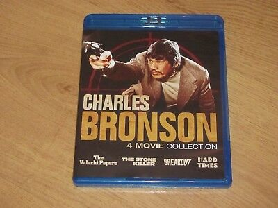 Charles Bronson 4 Movie Collection Blu-Ray Region A Hard Times The Stone Killer