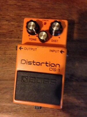 Pedale Distorsion DS-1 BOSS Products Of ROLAND