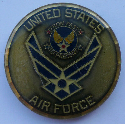 US Army Armee Militär Medaille Münze Challenge Coin United States air Force USAF