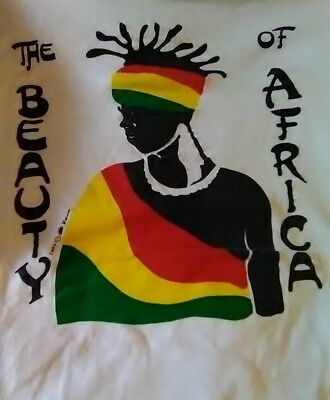 Vintage Beauty of Africa t-shirt rare single-stitch 80s