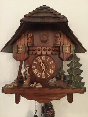 Original Black Forest Cuckoo Clock Made In Germany
