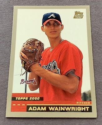 Adam Wainwright 2000 Topps Traded T88 1st Rookie  RC Cardinals
