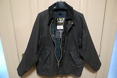 Barbour - A212 Transport Waxed Cotton Jacket- Made In England- Rare -Size 42
