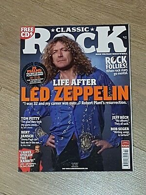 Classic Rock Magazine 102 february 2007.Led Zeppelin,Robert Plant,Tom Petty,Beck