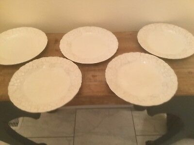 Metlox Poppytrail Antique Grape Dinner Plates set of five made in USA