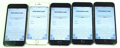 5 Lot Apple iPhone 6S- Verizon - 16GB & 32GB - For Parts- Read auction