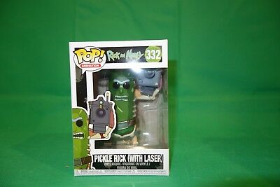 Rick and Morty - Pickle Rick Funko Pop! Animation #332 - New in Box