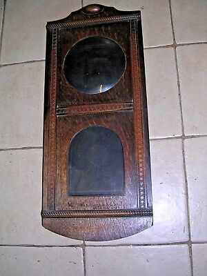 Clock  Parts ,   Oak  Wall  Clock  Case , Good