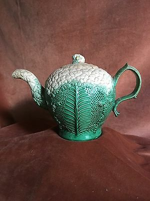 A very rare antique English ceramic teapot by William Greatbatch c. 1765-1770