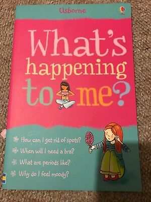 whats happening to me girls Book