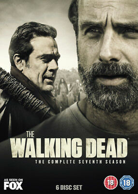 The Walking Dead: The Complete 7th Season  (DVD 2017)