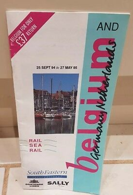 Belgium Germany and Netherlands South Eastern Travel Guide 1994 1995