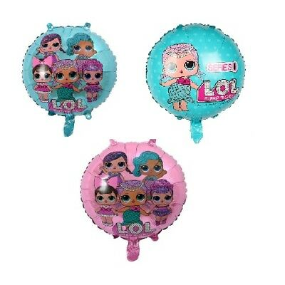 LOL Surprised Doll Foil  Balloons Party Birthday Decorations Hellium