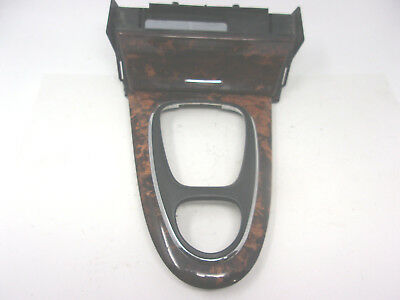 Hi-Q Nut Brown Cover Auto Rear Center Console Inlay Ashtray For AUDI A4 S4 02-09