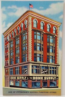 The Home Supply Furniture Store / Pittsburgh, PA / Curteich Linen Advertising PC