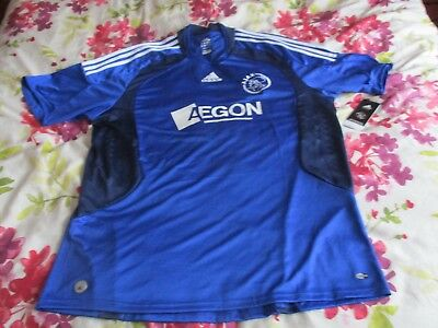 Ajax Away Shirt 2008-09 Brand New & With Tags 2xl