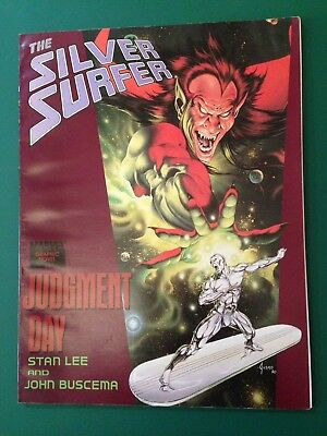 Silver Surfer: Judgement Day. 1st Printing 1988. Lee, Buscema. very rare