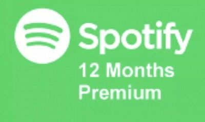 Spotify Premium ONE YEAR -12 Months - 365 days - EXCLUSIVE-[MY OWN FAMILY PLAN]