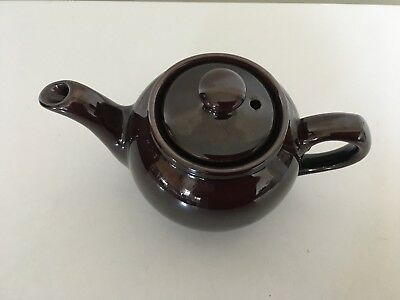 Brown Tepot For One ( Price Kensington )