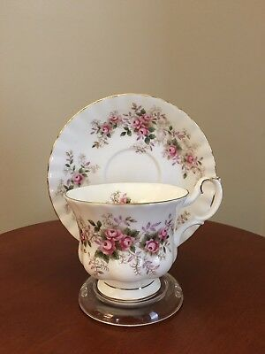 Tea Cup w Saucer English China Royal Albert Lavender Rose Multiples Avail New