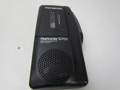 Olympus Pearlcorder S701 Handheld Micro Cassette Portable Voice Recorder GUC