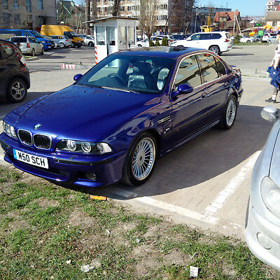 BMW E39 M5 Individual interior and exterior 2001 year with genuine Alpina