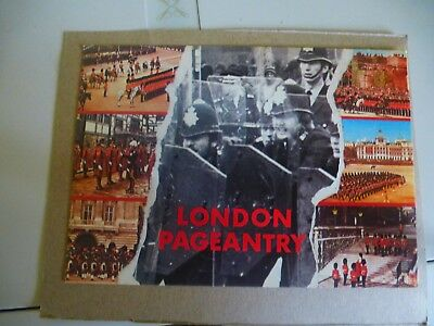 """London Pageantry """"Police In Riot Gear"""" Multiview Political/Satirical Postcard"""