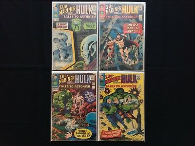 TALES TO ASTONISH Lot of 4 Marvel Comic Books - #72 76 77 83!