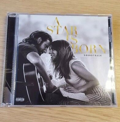 A Star Is Born Soundtrack CD 2018 Lady Gaga Bradley Cooper