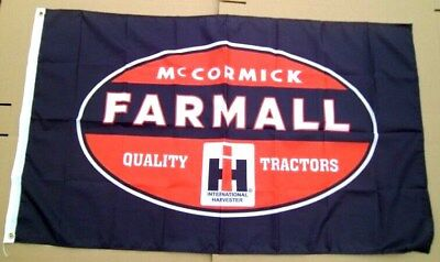 Farmall Tractor Flag 3' X 5' Polyester McCormick International Equipment NEW 662