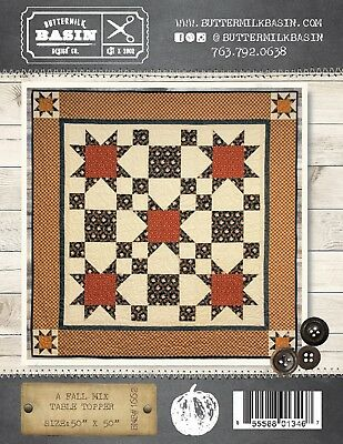 AUTUMN TREE WALL HANGING QUILTING PATTERN NEW From Buttermilk Basin Design Co
