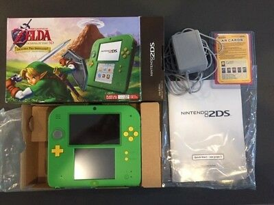 Nintendo 2DS - Link Edition Green Handheld Console with The Legend of Zelda