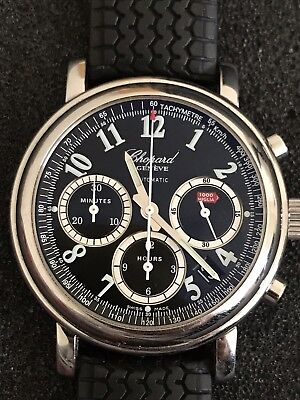 838ff32d8 Chopard Mille Miglia Ref 8331 Chronograph Great Condition Box Papers